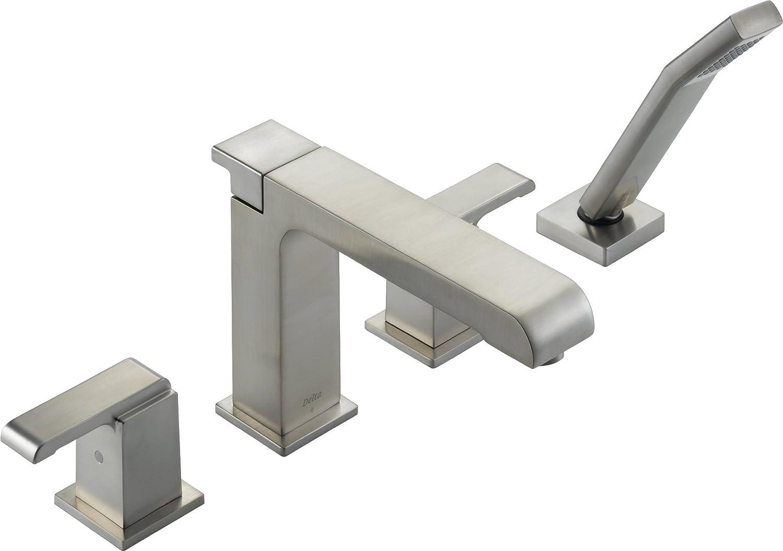 Delta Faucet T4786 Arzo Roman Tub With Handshower Trim, Chrome   Tub Filler  Faucets   Amazon.com