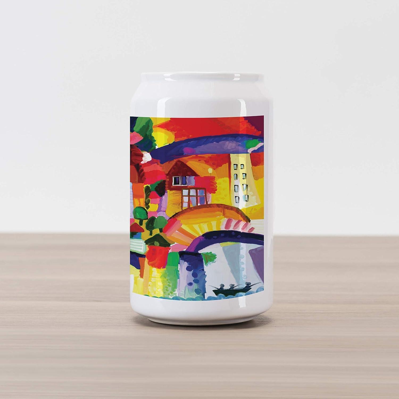 Amazon.com: Lunarable Abstract Cola Can Shape Piggy Bank ...