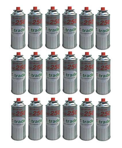 ALTIGASI 18 Unidades – Cartucho Bote de Gas licuado 250 gr Art. kcg250 Ideal Soldador