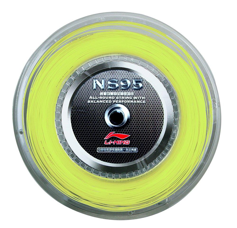 LI ning ns95cordaje de bádminton 200m carrete, amarillo Li-Ning AXJF032-2