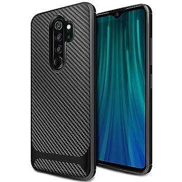 ivencase Funda Xiaomi Redmi Note 8 Pro Silicona, Carcasa Slim Suave TPU Alta Resistente y Flexibilidad Bumper Case Cover Anti-arañazos Antigolpes Caja ...