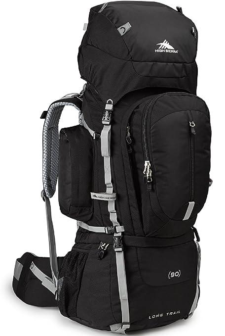 72af27d27bac Amazon.com   High Sierra Long Trail 90 Internal Frame Backpack ...