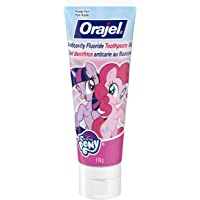 Orajel Anticavity Fluoride Toothpaste for Kids, My Little Pony, 119-g