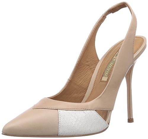 547x Nappa Piel Buffalo Semi London Zapatos 096 Vestir De Cromo 8nXwOk0PN