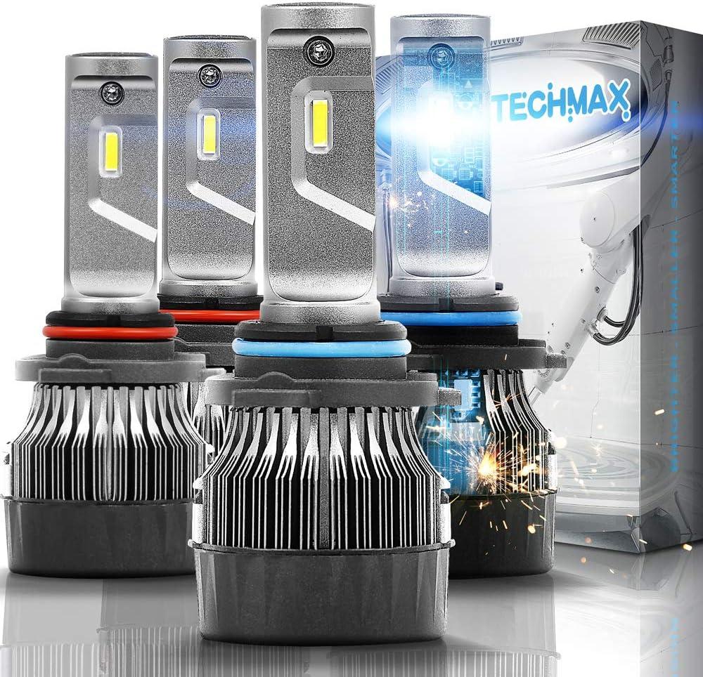 TECHMAX Mini 9005 9006 Cheap super special price LED Bulbs 3 6500K 2021 model White 4700Lux 60W Cool