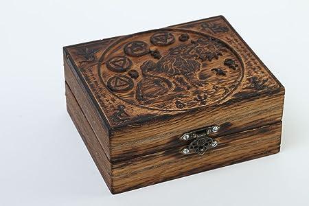 boite a bijoux bois fait main