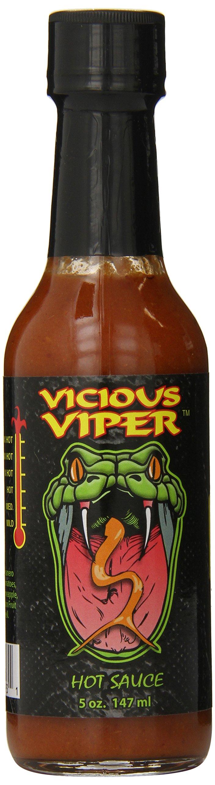 Vicious Viper Hot Sauce, 5 Ounce