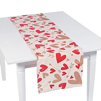 Valentine Fabric Table Runner