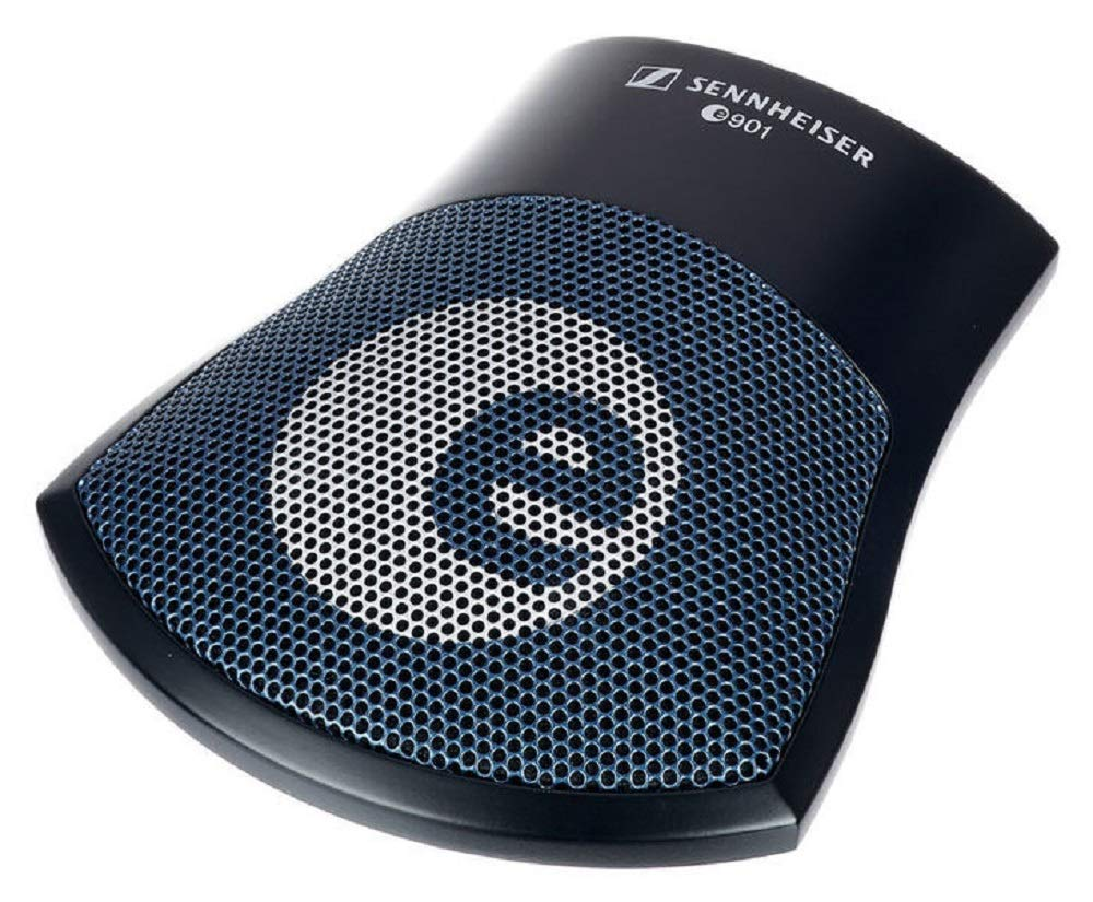 [Apply coupon] Sennheiser e901 Boundary layer Half cardoid Condenser microphone from a kick drum. Also for conference tables, podiums, altars, stages, pianos, and percussion