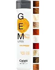 Celeb Luxury Gem Lites Colorwash: Color Depositing Shampoo, 10 Traditional Colors, Stops Fade in 1 Quick Wash, Cleanse + Color, Sulfate-Free, Cruelty-Free, 100% Vegan