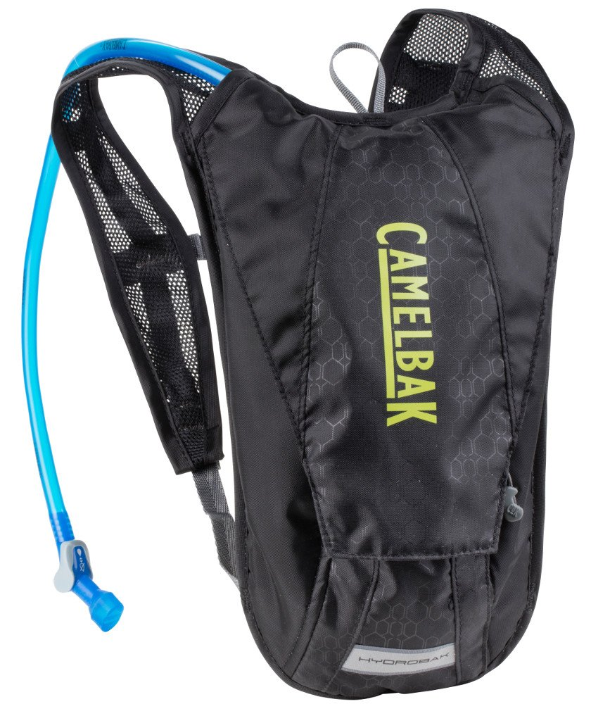 CamelBak 1122001900 - Mochila de hidratación, 2 l (Black/Yellow, No aplicable