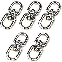 5 piezas de acero inoxidable M5 de doble