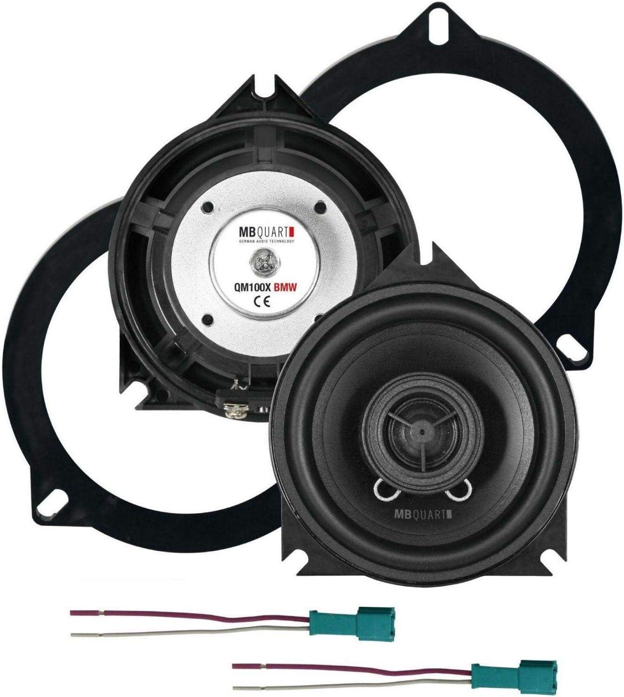 Mb Quart Koax 10 Cm Qm 100x Bmw Elektronik