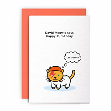 Cat Funny Rude Humorous LETS DANCE Birthday Card Greeting Friends Joke Naughty For Him Her Amazoncouk Office Products