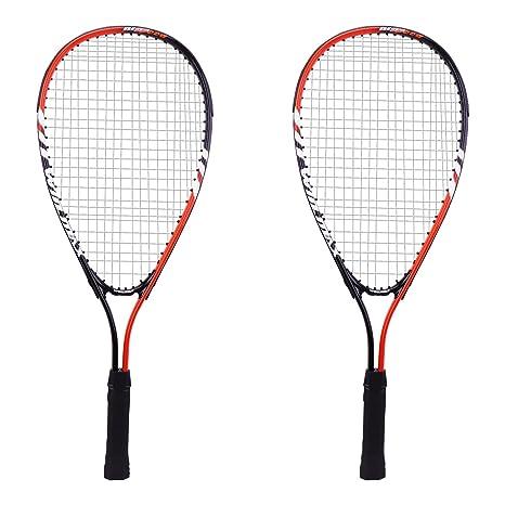Juego de raqueta de squash Winmax con 2 raquetas de squash y una ...