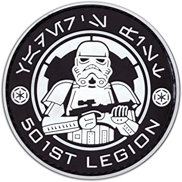 Star Wars 501 St Legion parches Badge Stormtrooper con velcro ...