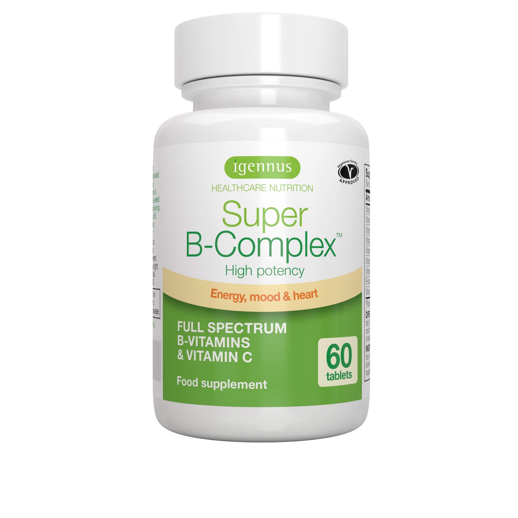 6 Pack Super B-Complex - High Strength Methylated Vitamin B Complex