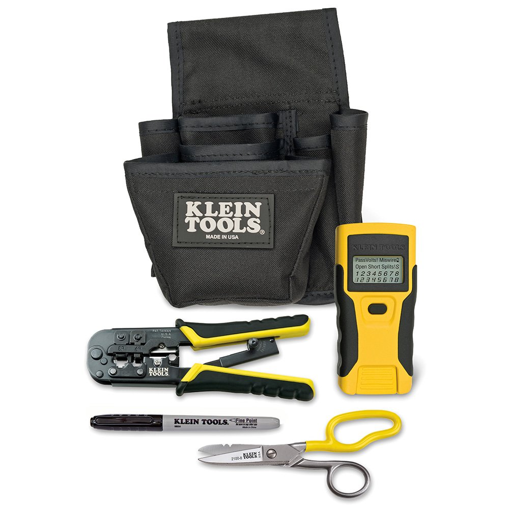 Klein Tools VDV026-812 LAN Installation and Tester Starter Kit