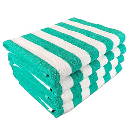 Extra Large Beach Towels.Arkwright California Cabana Striped Oversized Beach Towel Set Of Four Extra Large 30 X 70 100 Ringspun Cotton Double Yarn Strength Perfect
