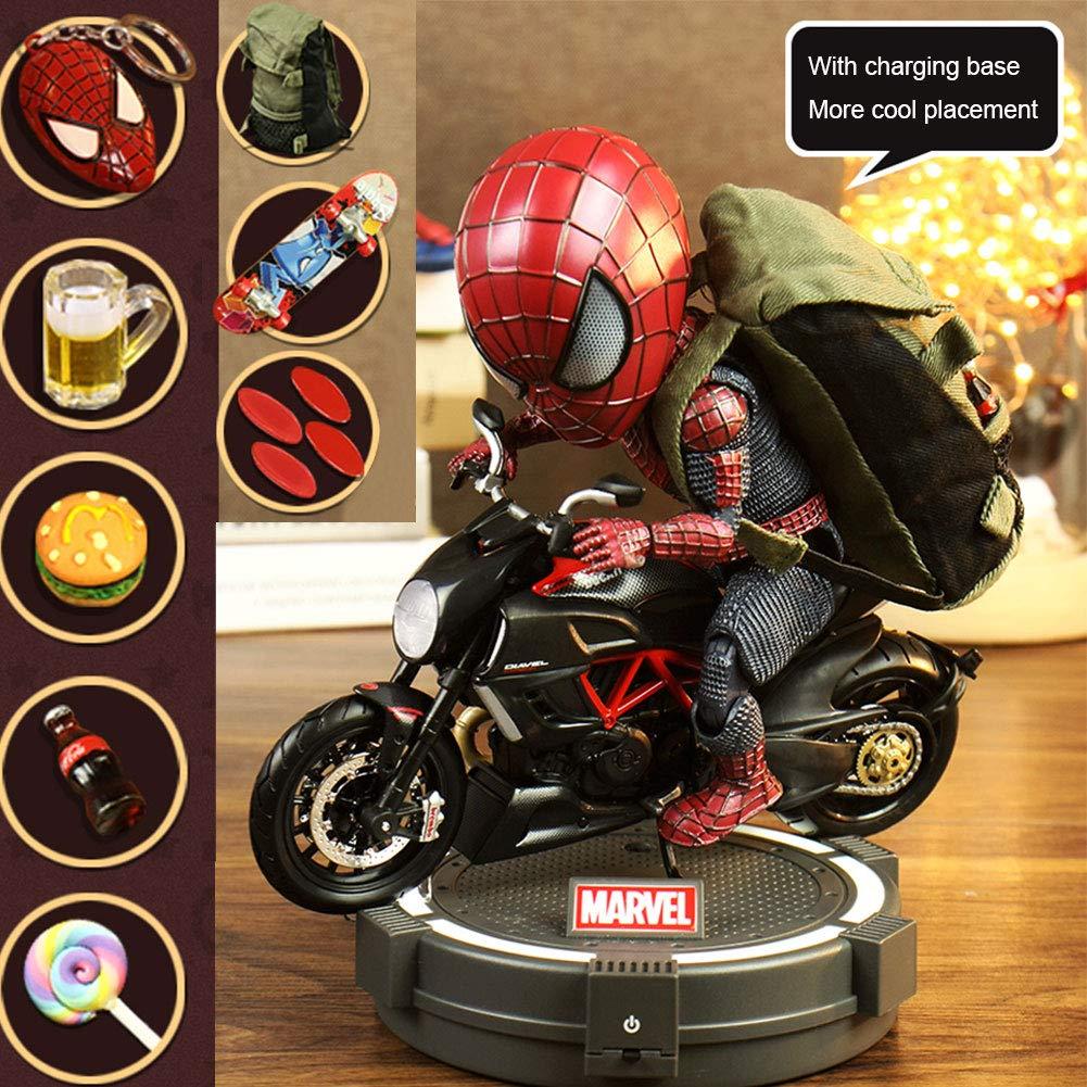 ventas en linea Wild Wild Wild MD Marvel Spider-Man Figura De Acción Q Versión Modelo De Muñeca De Juguete Móvil Modelo para Coche Decoración del Hogar-18CM 1  tomamos a los clientes como nuestro dios
