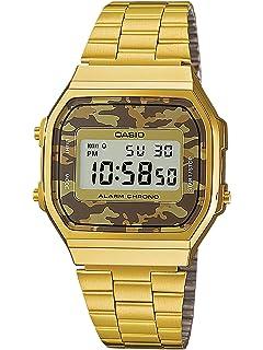 7047a6935408 Casio Reloj Mujer de Digital con Correa en Acero Inoxidable ...