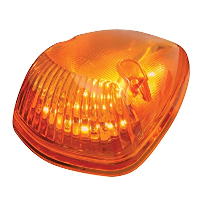 Grand General 82260 LED Light (Triangle Cab Marker Amber with Amber Lens): Automotive [5Bkhe0811486]