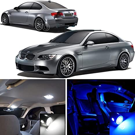 2006 – 2011 BMW E90 E92 Serie 3 bombillas LED paquete interior luces completo Deal blanco