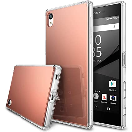 Amazon.com: Ringke Fusion – Carcasa para Sony Xperia Z5 ...