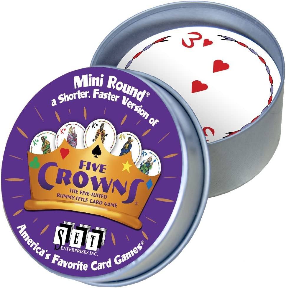 Five Crowns Mini Round Card Game