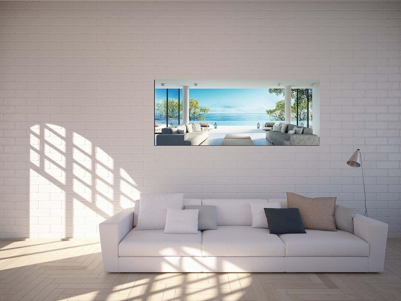 Glasbilder Wandbilder 125 x 50cm Architektur Modern AG312502378