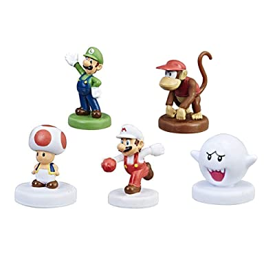 Monopoly Gamer Power Pack Bundle - Luigi, Boo, Fire Mario, Toad, and Diddy Kong: Toys & Games