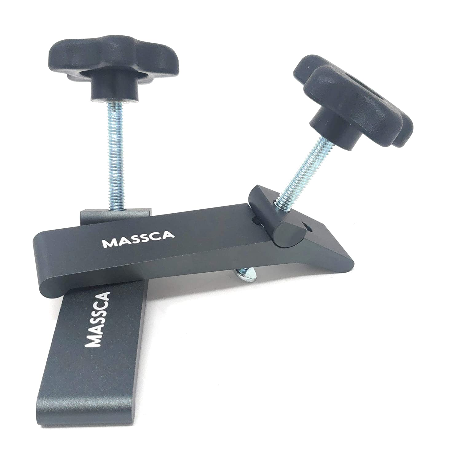 MASSCA Hold-Down Clamp Heavy Duty Made from Strong High-Grade Carbon Steel for Home /& Workshop Use 5-1//2 L x 1-1//8