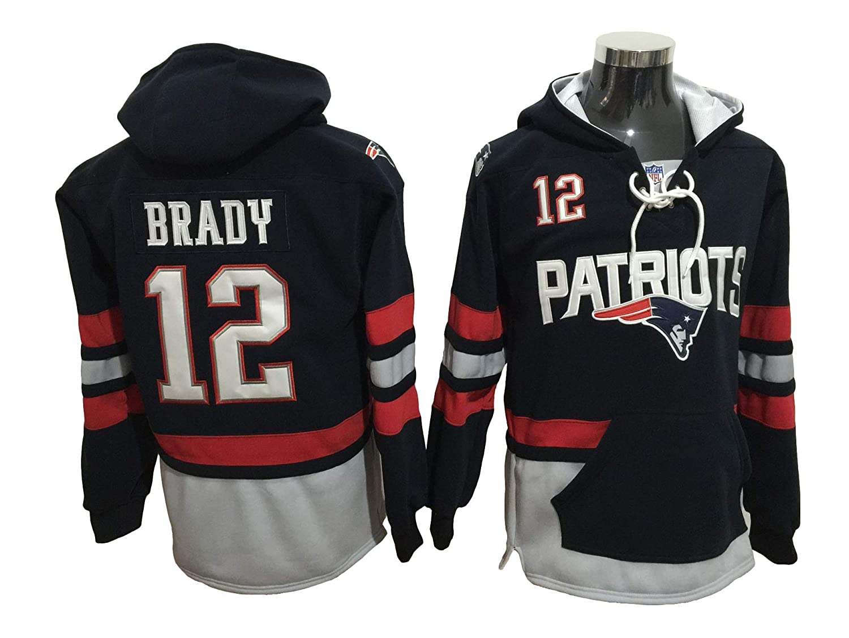 Brady Patriots Football Hoodie Jersey