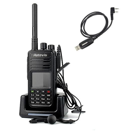8 opinioni per Retevis RT3 DMR Digitale Walkie Talkie VHF 136-174MHz 5W 1000CH Radio VOX