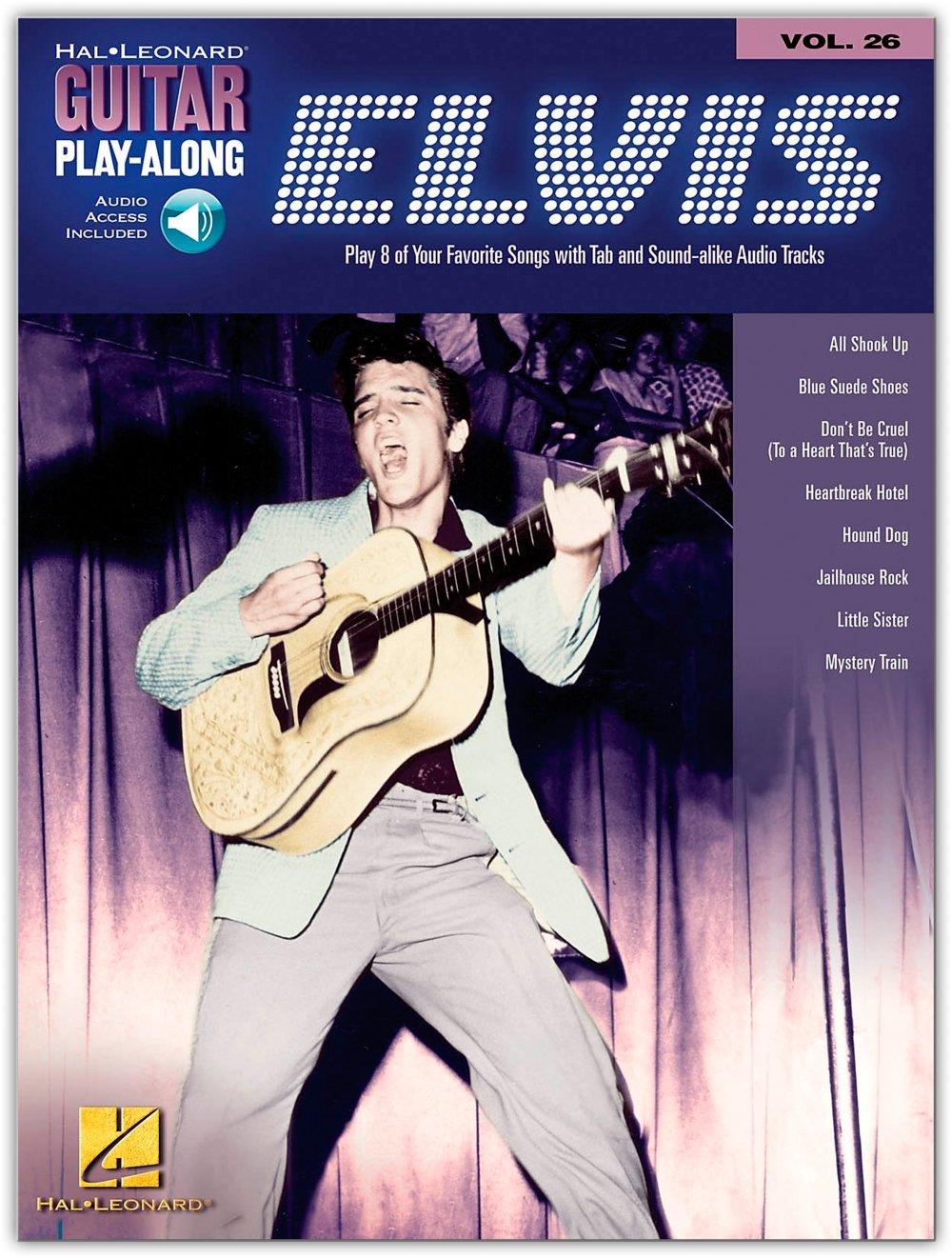 Hal Leonard Elvis Presley Guitar Play-Along Series Volume 26 (Book/Online Audio) pdf