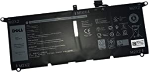 DELL DXGH8 7.6V 52Wh Battery For DELL XPS 13 9370 XPS 13 9380 Inspiron 13 5390 Inspiron 13 5391 Inspiron 13 7390 2-in-1 7391 2-in-1 Inspiron 14 7490 Vostro 5390 Vostro 5391 Dell Latitude 3301 Notebook