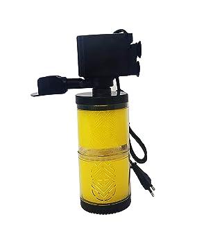 takestop® Filtro Interior dn-1502 15 W L/h 2 filtrado Bomba Esponja esponjas FILTRANTE para Acuario Agua Dulce Salada Sumergible: Amazon.es: Electrónica