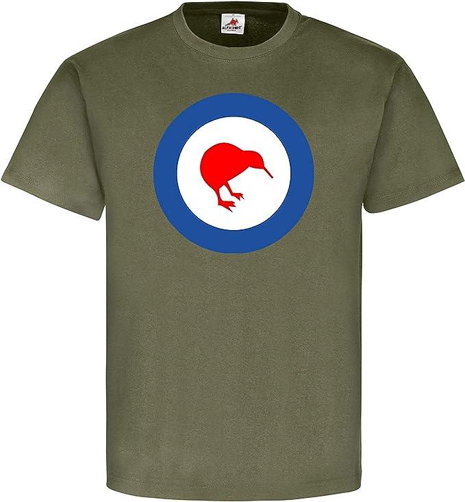 Copytec New Zealand Kiwi pájaro Zelanda Bandera Flag Escudo Nadadores Emblema – Camiseta # 1532: Amazon.es: Ropa y accesorios