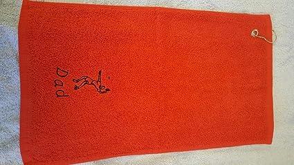 Personalizable felpa bádminton deportes toalla con bordado de un curvado personalizable nombre – 50 x 30