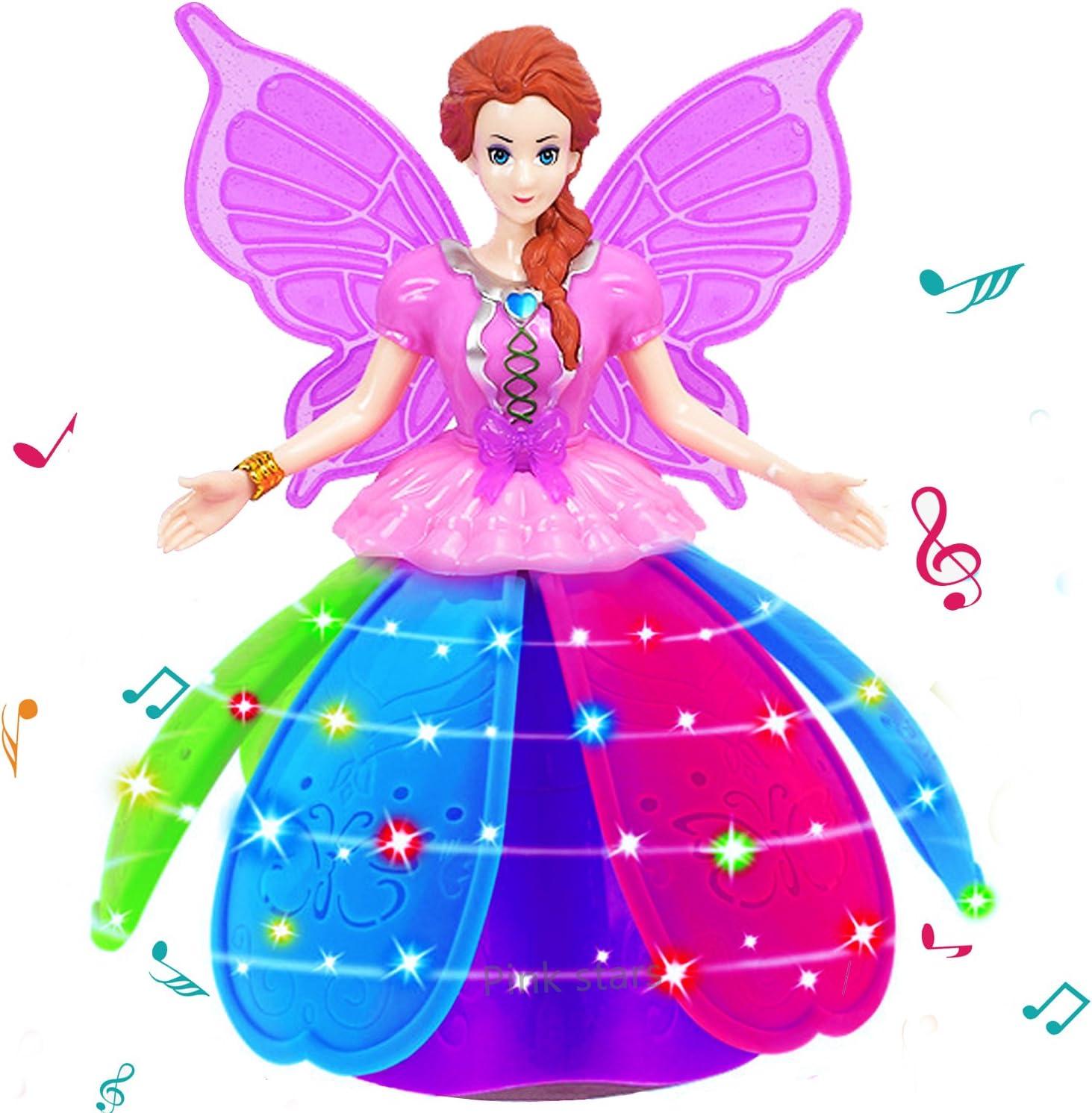 Princess Flying Elsa Fairy Magical Princess Girls Doll Xmas Gift Interactive Toy