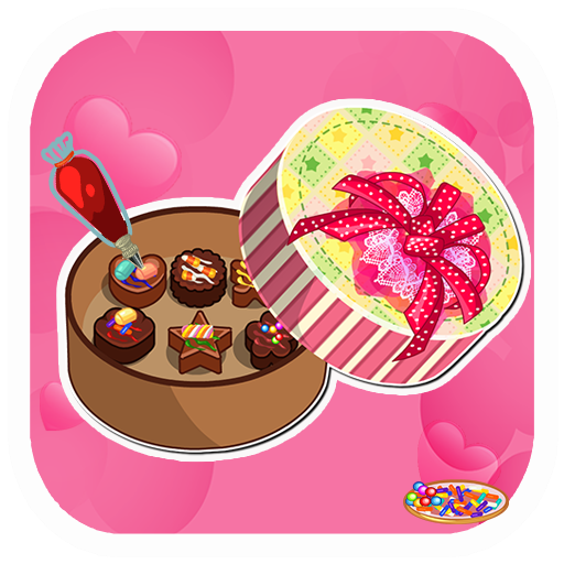 Decorate Valentine Box (Chocolate For My Valentine-Chocolate Maker Crazy Chef&Valentine love(Cooking)