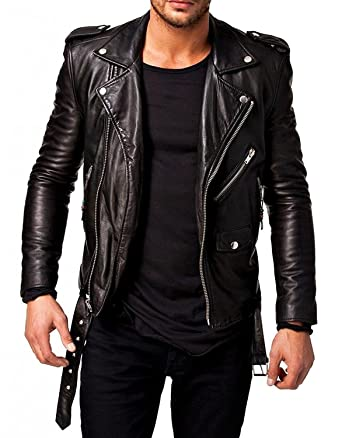 FashionScrapbook Men s Faux Leather Jacket(Ovrfsbmen 1903022 Black 0)   Amazon.in  Clothing   Accessories b91763de821