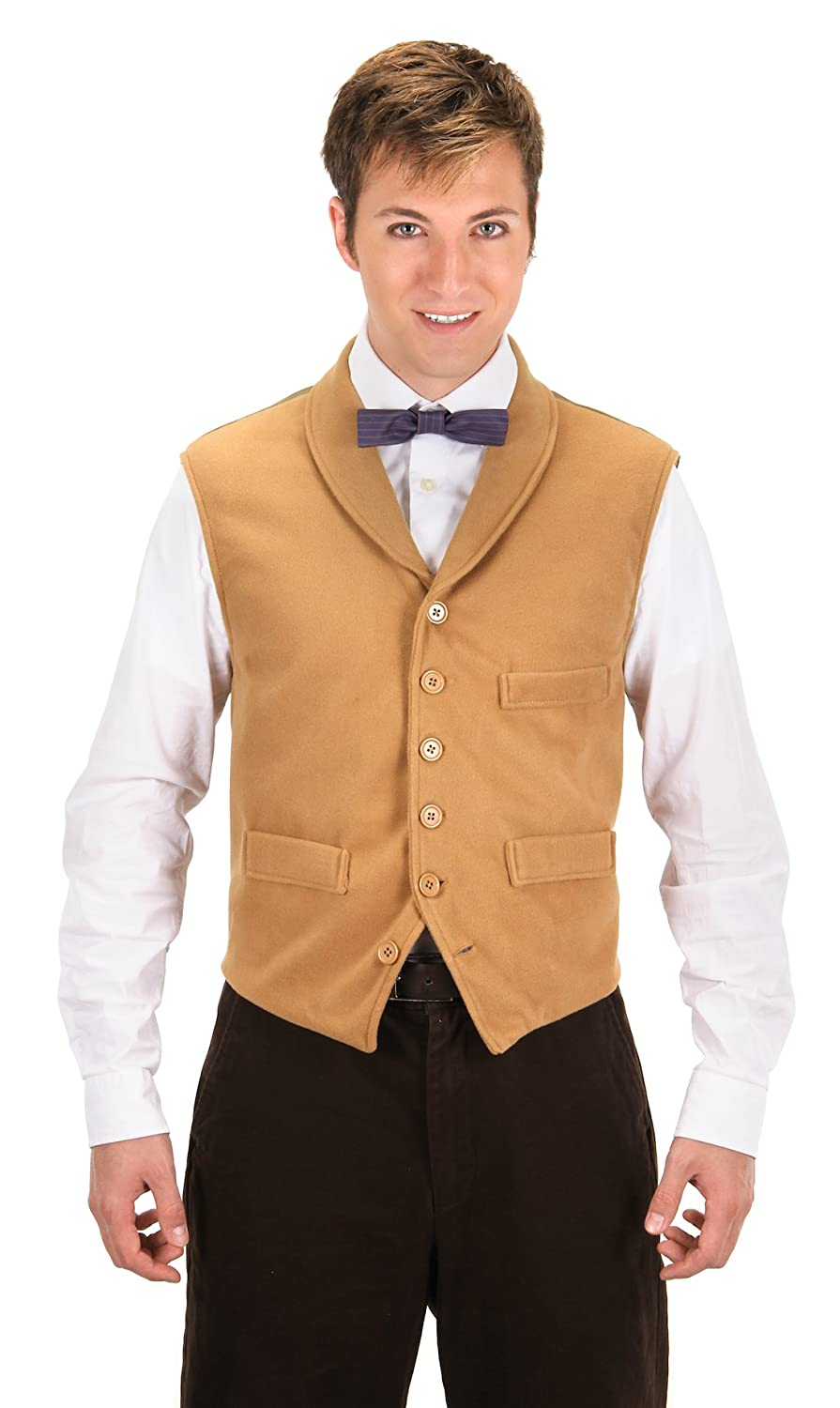 Men's Vintage Vests, Sweater Vests Fantastic Beasts and Where to Find Them Newt Scamander Vest by elope $34.99 AT vintagedancer.com