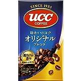 UCC オリジナルブレンド コーヒー豆 (粉) 真空パック 200g