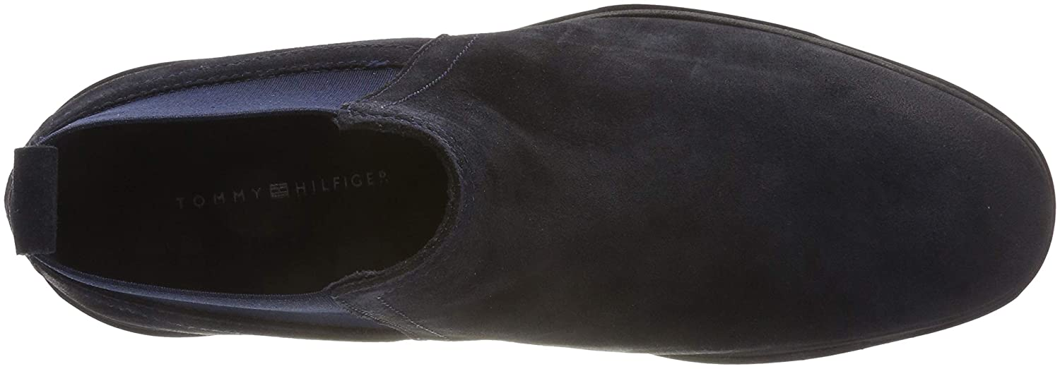 Tommy Hilfiger Herren Flexible (Midnight Dressy Suede Chelsea Boots Blau (Midnight Flexible 403) 2f0f1e
