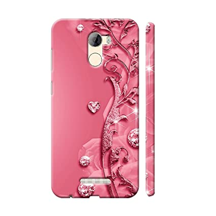 timeless design 8e370 968d5 Clapcart Gionee A1 Lite Designer Printed Back Cover for: Amazon.in ...