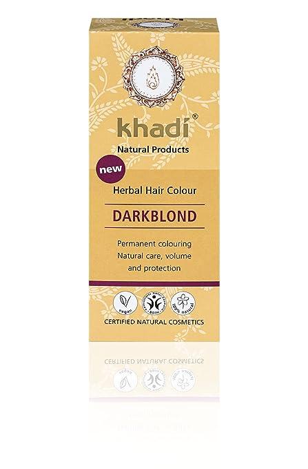 KHADI - Tinta Vegetale in Polvere Biondo Scuro - 100% Naturale - Per tutti i 7508f82bb0d1
