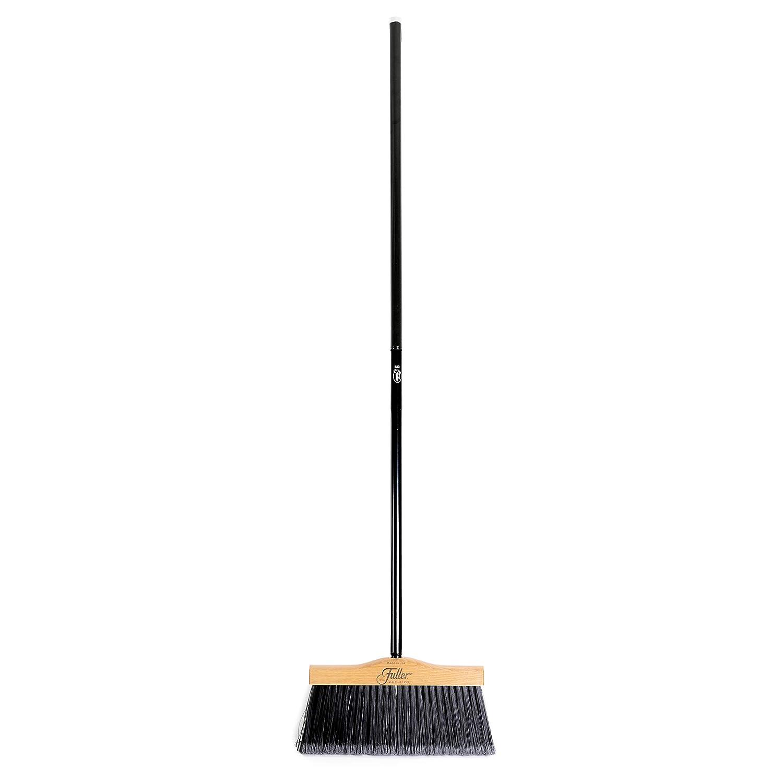 Shop 10 Complete Broom Fuller Brush Indoor//Outdoor Broom Heavy Duty Wide Wooden Sweeper Replacement w//Long Bristles Commercial Floor Brush for Salon Kitchen /& Garage