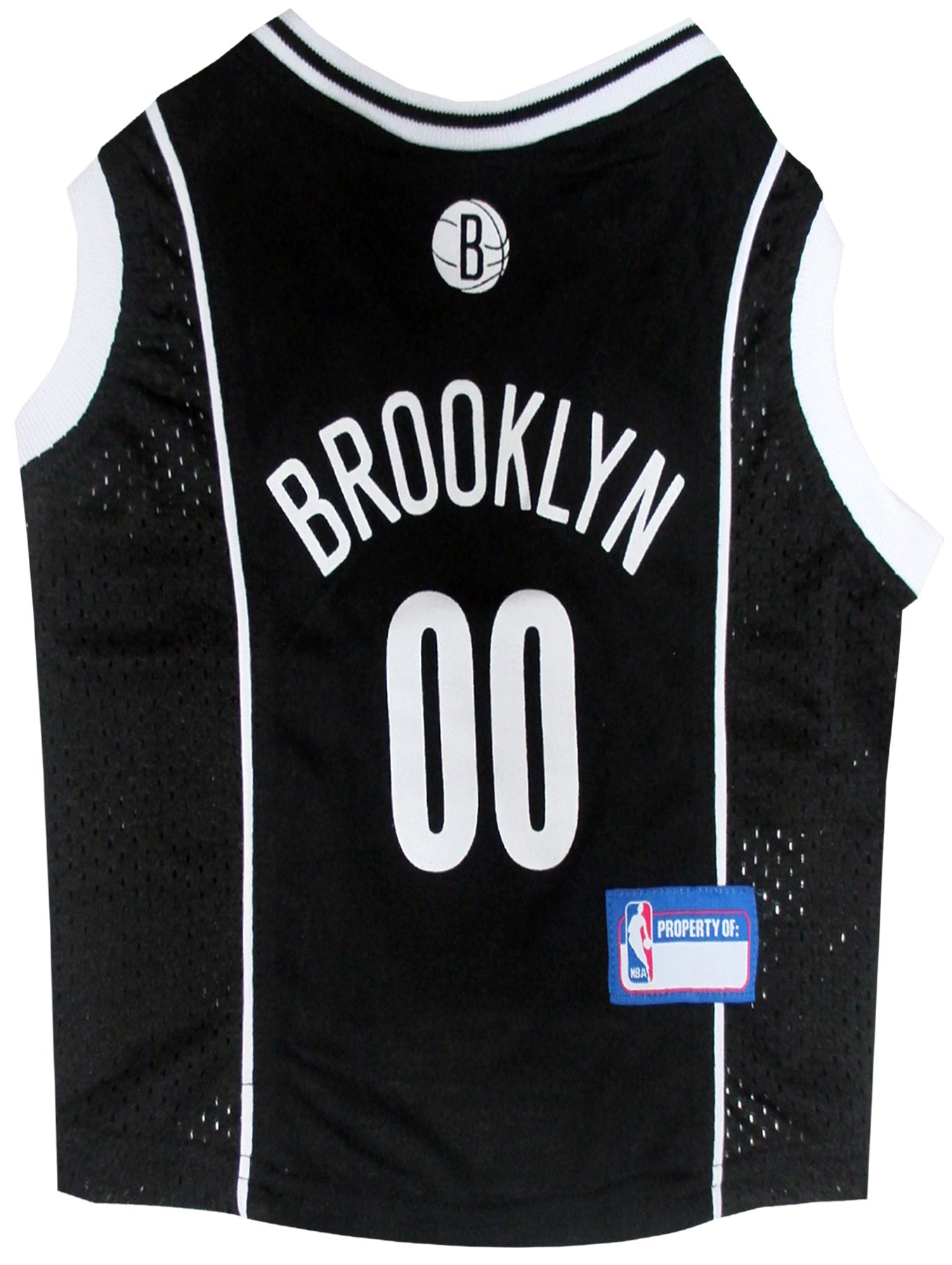 Pets First NBA BROOKLYN NETS DOG Jersey, Medium