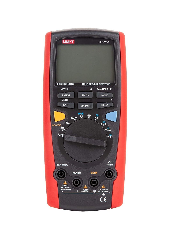 Uni T Ut71a Mie0091 Ut71a Mie0091 Messgerät Ac Dc Lcd Digital Multimeter Voltmeter Spannung Strommesser Gewerbe Industrie Wissenschaft
